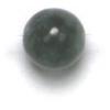 Semi-Precious 6mm Round Russian Jade